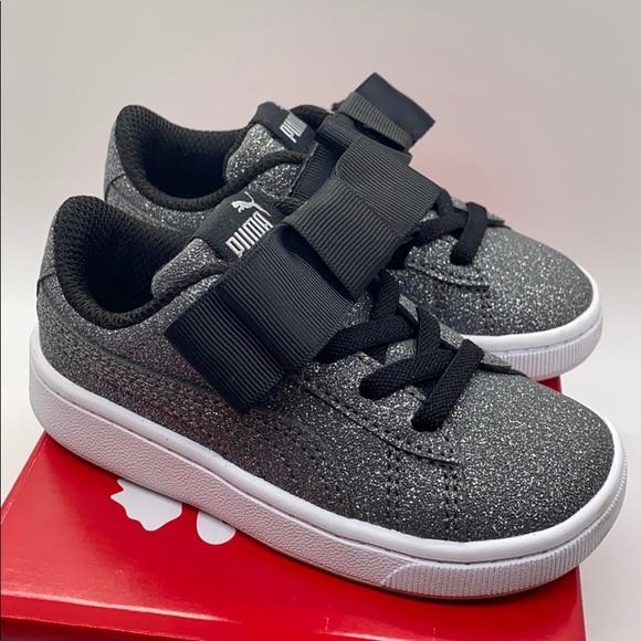 Puma Vikky V2 Ribbon Glitz Sneakers Jr